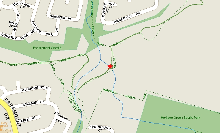 11b Heritage Green Falls Map