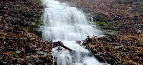 December 2014 Mountain Spring Falls