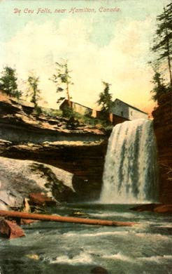 4a DeCew Falls postcard 1911 - April 2015