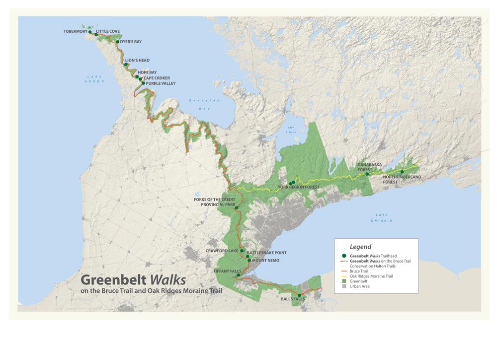 Niagara Escarpment Map Maps | Telling the story of the Niagara Escarpment Niagara Escarpment Map