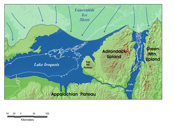 Niagara Escarpment Wisconsin Map.Glaciation Telling The Story Of The Niagara Escarpment